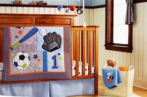 New Embroidered Base Ball Sports Boy Baby Cot Crib Bedding