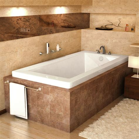 Bathroom Soaker Tubs by Bronzino 30 X 60 Rectangular Soaking Drop In Bathtub