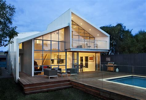 architectural homes as blurred house transforms from cali bungalow to modern home