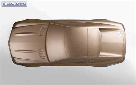 Studiotorino Coupetorino Scale Model Car Body Design