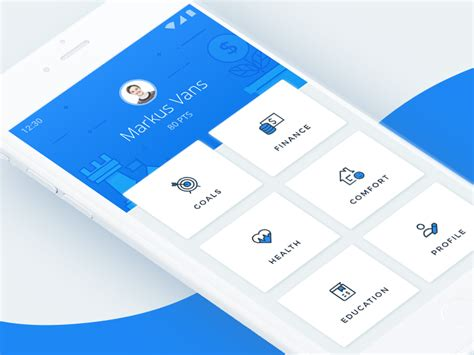Home Design Software For Android Mobile by Hub Navigation Screen Popular Dribbble App