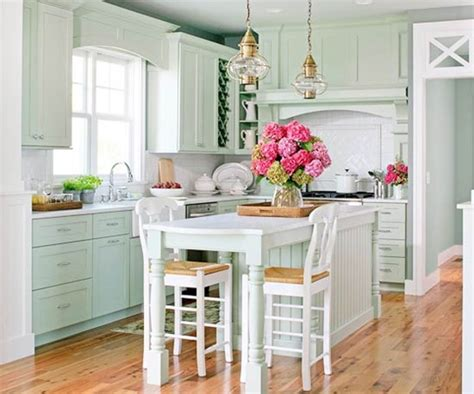 cottage style kitchen islands bhg centsational style