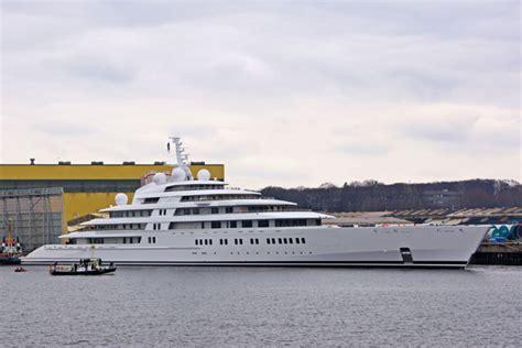 azzam worlds largest yacht reappears  luerssen