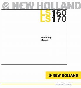 New Holland Ls160    Ls170 Skid Steer Loader Service Manual