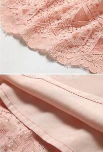 Tissu Rose Poudré : robe habill e rose poudr dentelle ~ Teatrodelosmanantiales.com Idées de Décoration