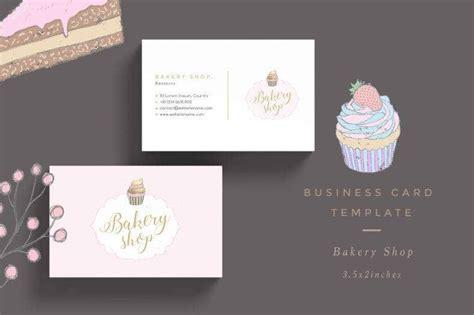 bakery business card designs templates psd ai