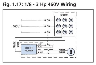 Schematic Of 3 4 Hp Motor Wiring by Item G3k32n120 Bbl4a Gtr Series G3 High Torque