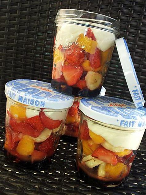 recette de salade pique nique au 3 fruits gourmande en bocaux