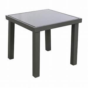 Table D Appoint Jardin : table d 39 appoint piazza anthracite meuble d 39 appoint eminza ~ Teatrodelosmanantiales.com Idées de Décoration
