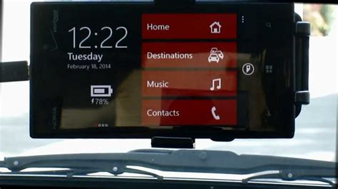 Car Apps Windows 10 by Windows Phone 8 Car Dash Board