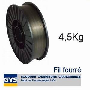 Fil Fourré Sans Gaz : bobine de fil mig fourr acier sans gaz 0 9 mm 4 5 kg ~ Dailycaller-alerts.com Idées de Décoration