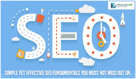 Seo Fundamentals by Simple Yet Effective Seo Fundamentals You Must Not Miss Out On