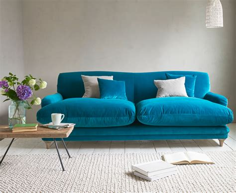 Teal Loveseat by Pudding Sofa Traditional Style Sofa Loaf