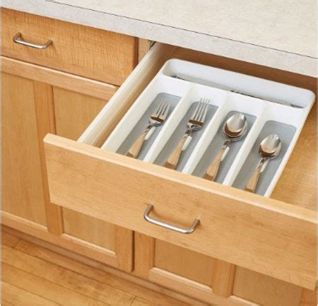 flatware organizers drawer tray madesmart bustle silverware organizer classic