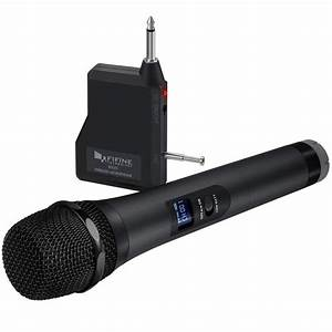 Fifine Wireless Handheld Microphone  Battery
