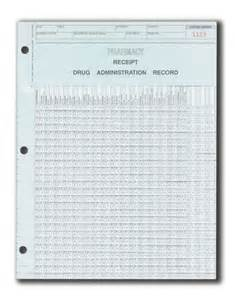 Printable Medication Administration Record Form