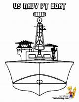 Navy Coloring Ship Boat Pt Wwii Sheets Pages Unflinching Ships Battleship Yescoloring Sheet Boys Mega Sailors Carriers sketch template