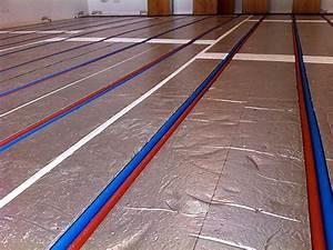 Plancher Rayonnant Electrique : plancher chauffant renovation roth ~ Premium-room.com Idées de Décoration