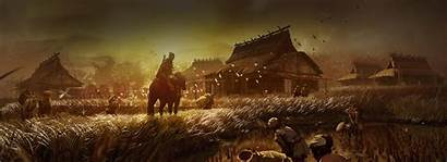 Tsushima Ghost Concept Ps4 Wallpapers Stealth Samurai