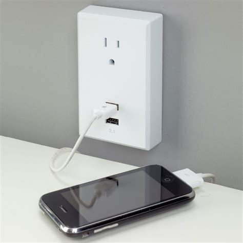 plug in wall l plug in usb wall outlets the green head