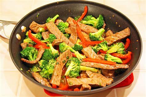 cuisine cook lazy gluten free teriyaki steak stir fry