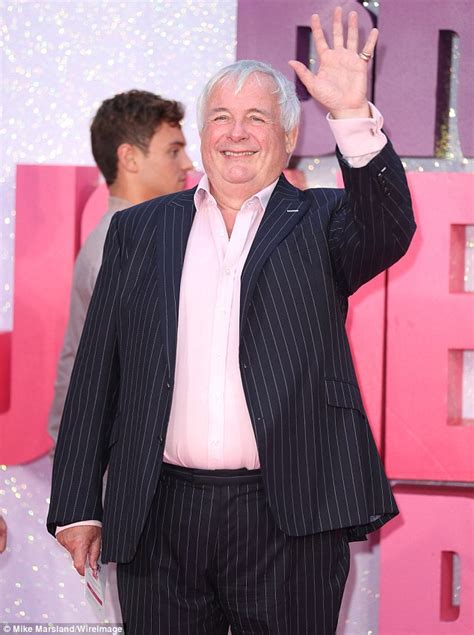 Christopher Biggins Hits The Red Carpet At Bridget Jones's