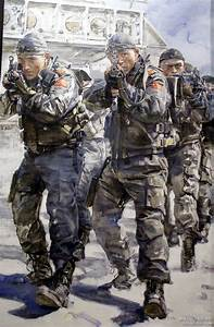 PLA special forces, China | 21st Century War Art ...