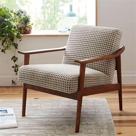 Side Chairs For Living Room mid century show wood chair modern cabin upholstered