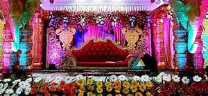 Wedding Stage Decoration @ Vel Sokkanathan Thirmana