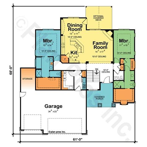 Master Suite House Plans by Luxury Ranch Style House Plans With Two Master Suites