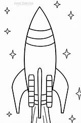 Rocket Coloring Pages Ship Ships Printable Cool2bkids sketch template