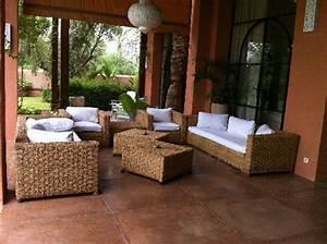 Salon Jardin Exterieur : le salon exterieur photo de villa jardin nomade ~ Premium-room.com Idées de Décoration