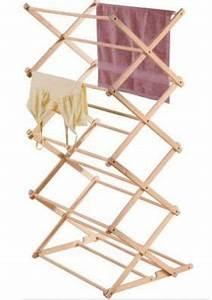 Etendoir A Linge Extensible : etendoir linge tour en bois etendoirs linge pinterest ~ Carolinahurricanesstore.com Idées de Décoration