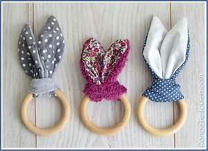 Petit Cadeau à Faire En Couture : hochet lapin pour petites mains diy printable range tes jouets tuto gratuits ~ Melissatoandfro.com Idées de Décoration