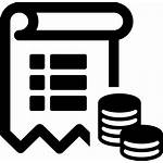 Icon Clipart Svg Cost Balance Trial Finance
