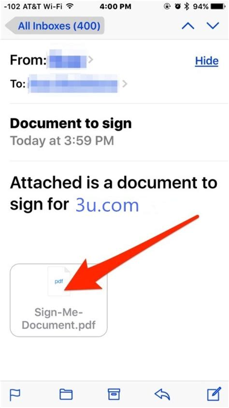 sign a pdf on iphone tutorial ios tips how to sign documents on iphone