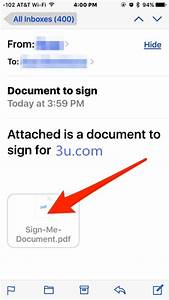 tutorial ios tips how to sign documents on iphone With documents app email