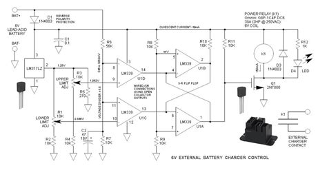 External Battery Charger Control