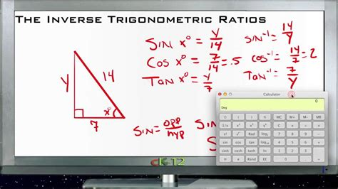 Worksheet Inverse Trigonometric Ratios Worksheet Fun Worksheet Study Site