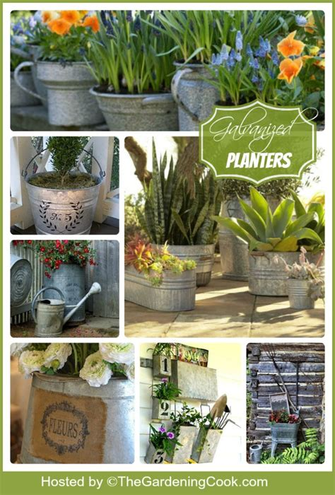 Galvanized Garden Decor Popular