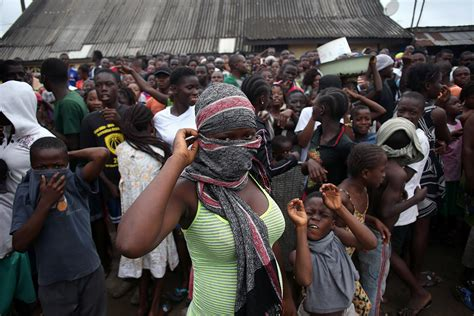 ebola outbreak missing liberia patients