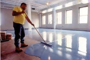 Concrete Floor Leveling Techniques by High Build Seamless Epoxy Floor Resurfacer