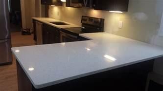 Portfolio Table Lamps by Sparkling White Quartz Countertop