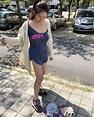 台灣性感正妹勾兒 帶狗去公園散步唔小心跌曬膊   Jdailyhk