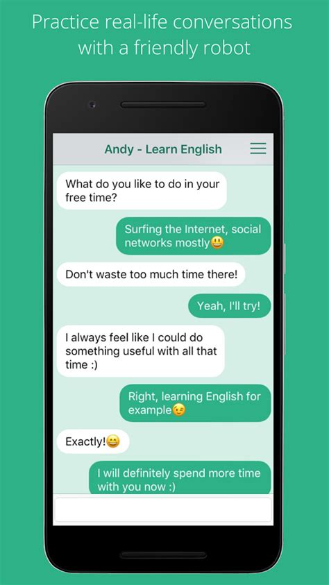 andy english speaking bot apk  android apps