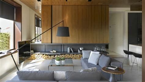 Invisible Doors Turn A Modern Home Into An Artistic Feat Of Design by A Modern Residence With Simple Details Outside Of Moscow