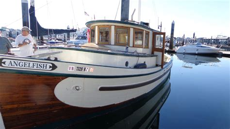 Boat Financing Vancouver by 1954 Used Vancouver Boat Yard Converted Gillnetter