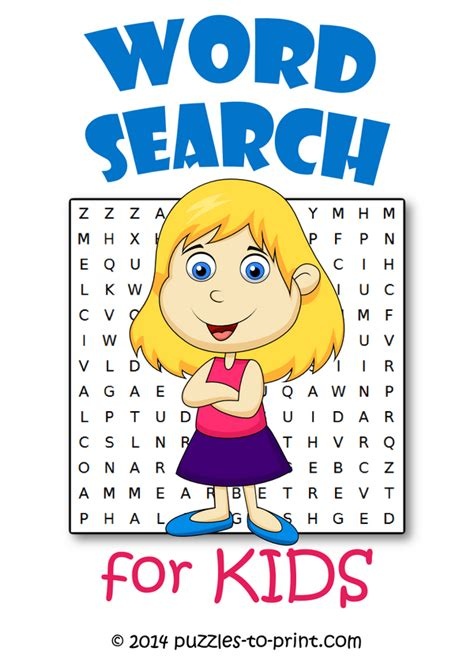 word searches  kids