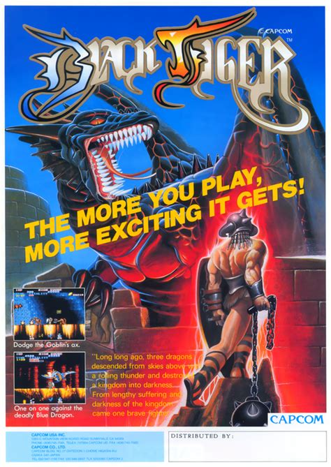 Play Black Tiger Coin Op Arcade Game Online