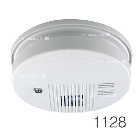 detector sensor de humo inalambrico alarma incendios casa